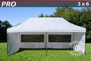 Pop-up Tonnelle de Jardin 3 x 6 Aluminium